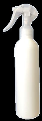Szórófejes újrahasznosítható műanyag flakon 0,25l