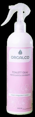 Orgalco Toalett olaj, fertőtlenítő és légfrissítő keleti virágoskert illatú 0,5 liter szórófejes