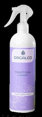 Orgalco Toalett olaj és légfrissítő Japán lilaakác illatú 0,5 liter szórófejes