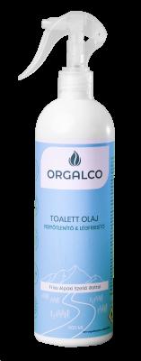 Orgalco Toalett olaj, fertőtlenítő légfrissítő Alpoki szellő illatú 0,5 liter szórófejes